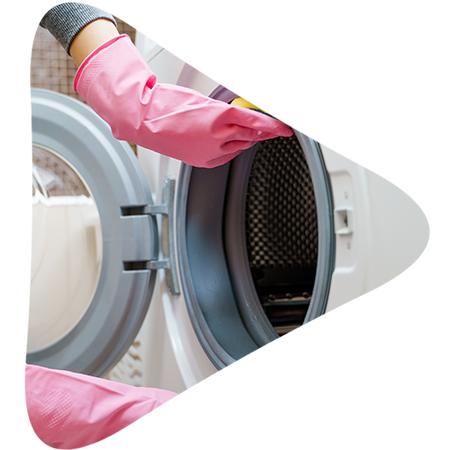 איך לנקות מכונת כביסה