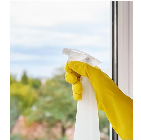 איך לנקות חלונות