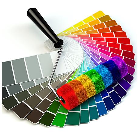 בחירת צבע קיר
